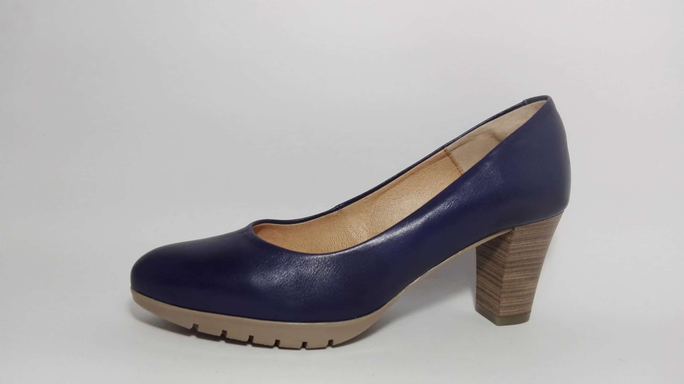 Zapato de salón con planta de gel azul- Mod. 2220 Desiree