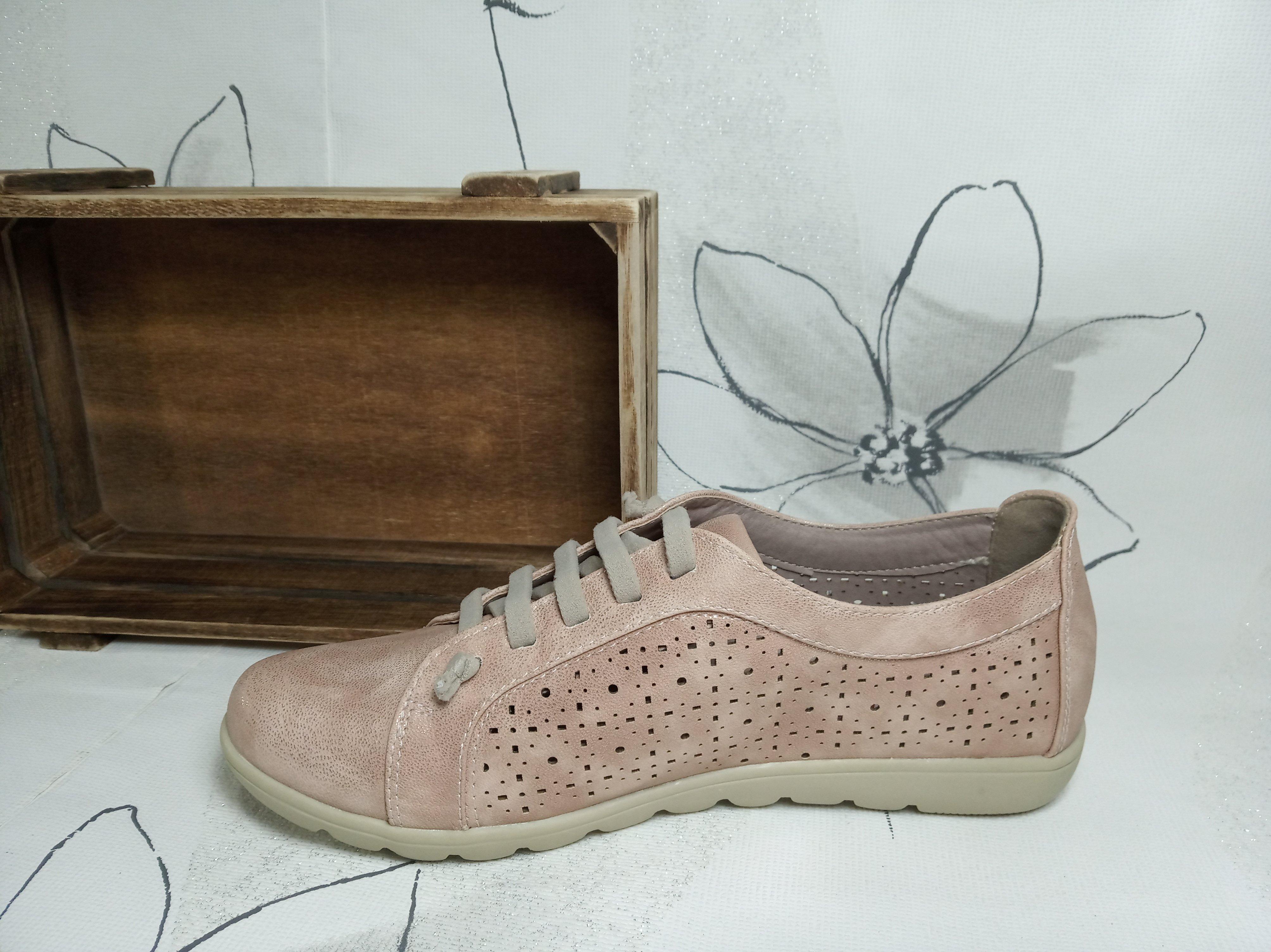 Zapatillas planas de mujer con suela acolchada -Rosa