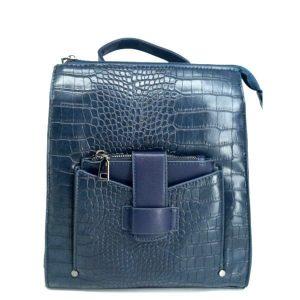 mochila-de-polipiel-azul-grabada