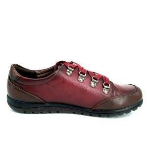 zapatillas-burdeos-planas-con-cordones