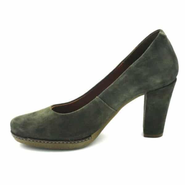 Zapato de Salón Verde Caqui Desirée