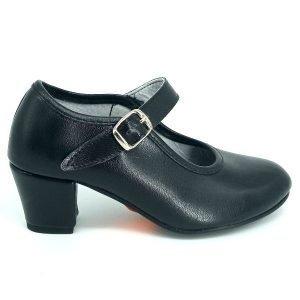 Zapatos-negros-de-baile-flamenco