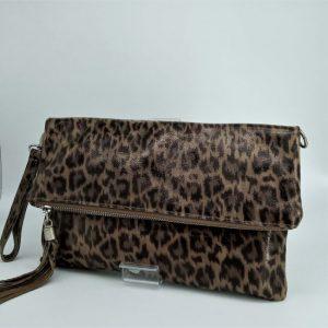 bolso-piel-marron-leopardo