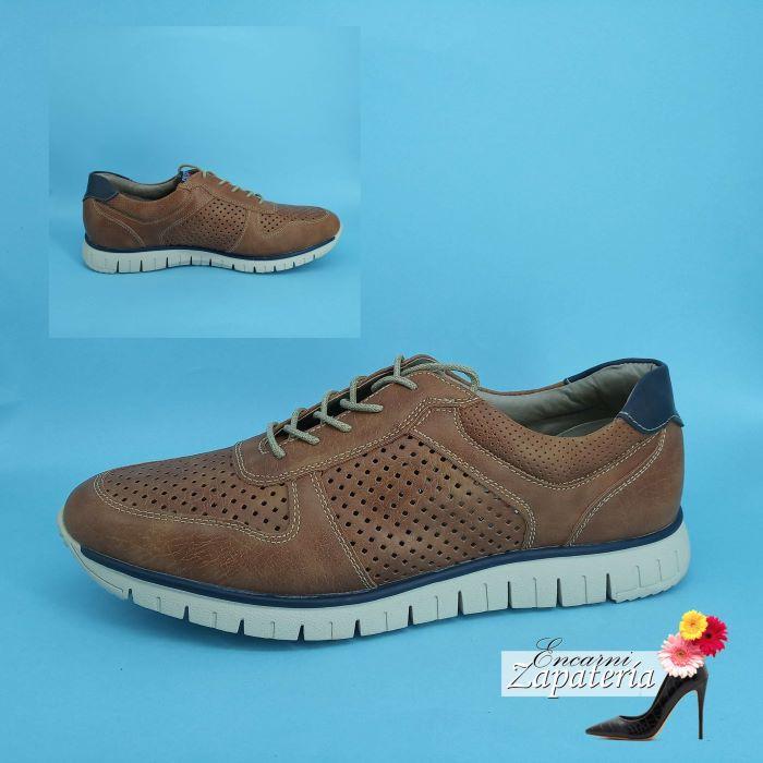 Zapatos de Hombre Cásual Marron
