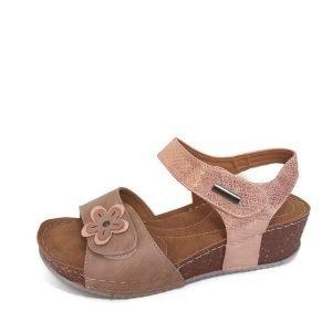 Sandali-plataforma-rosa-comoda-velcro