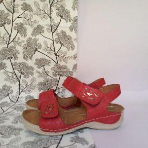 Sandalia-Pies-Delicados-Rojo